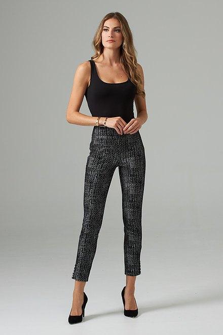 Joseph Ribkoff Pantalons Noir/Blanc Cassé Style 203350