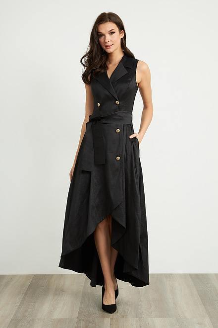 Joseph Ribkoff Robes Noir Style 203357