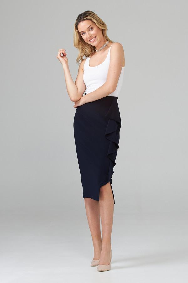 Joseph Ribkoff Midnight Blue 40 Skirts Style 203358