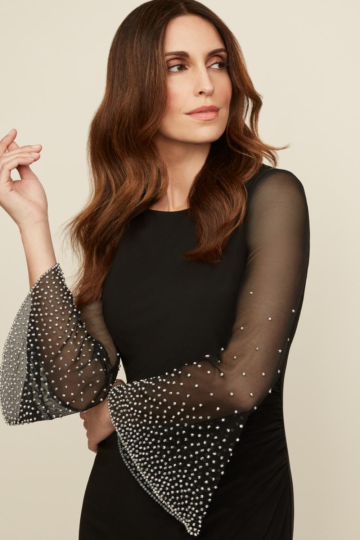 Joseph Ribkoff Black Dresses Style 203372