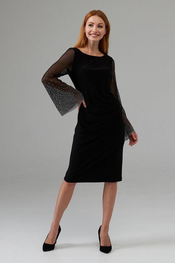 Joseph Ribkoff Robes Noir Style 203372