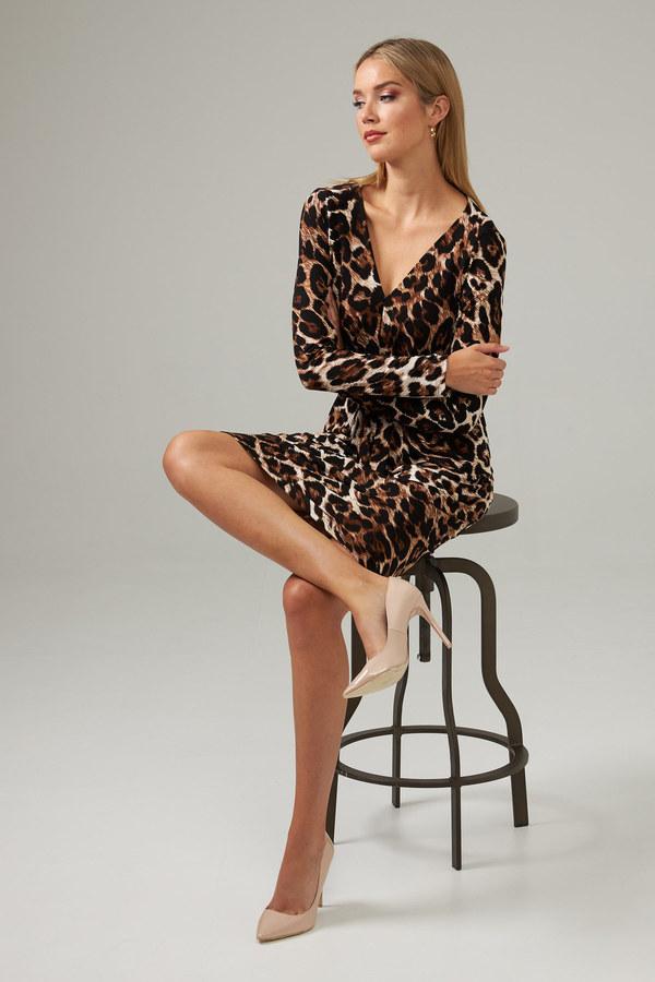 Joseph Ribkoff Robes Brun/Multi Style 203373