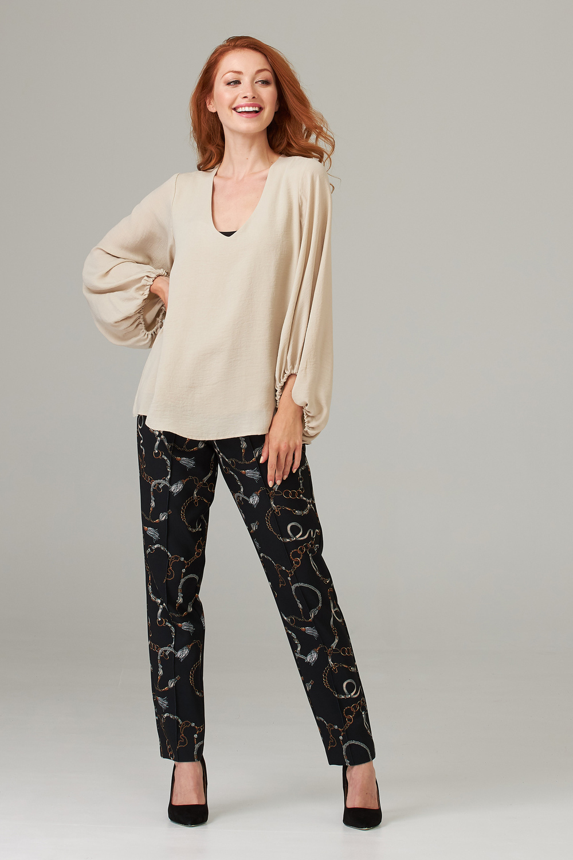Joseph Ribkoff Pantalons Noir/Multi Style 203380