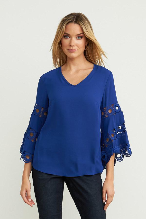 Joseph Ribkoff Royal Sapphire 163 Shirts & Blouses Style 203441
