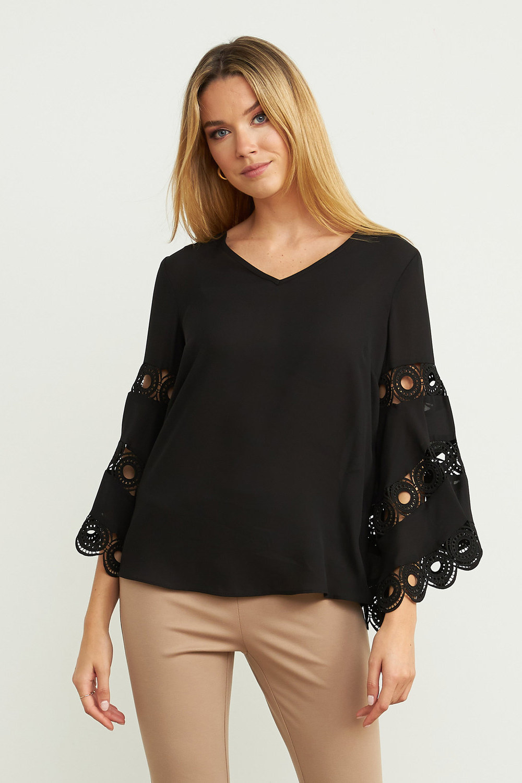 Joseph Ribkoff Black Shirts & Blouses Style 203441