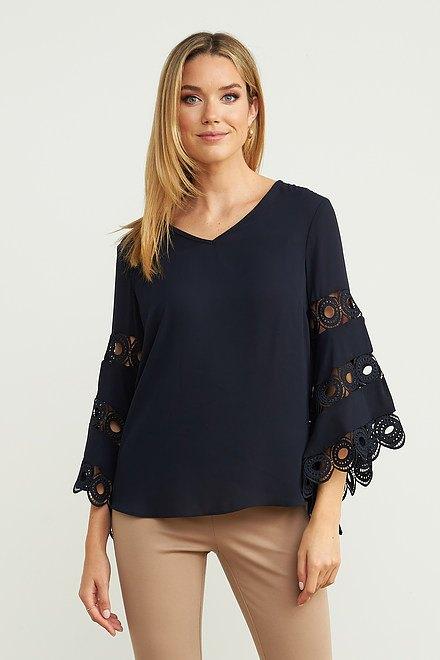Joseph Ribkoff Chemises et blouses Bleu Nuit Style 203441