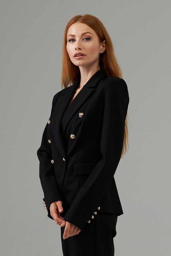 Joseph Ribkoff Black Blazers Style 203458