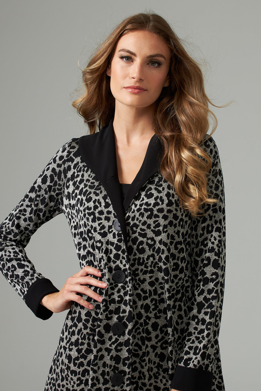 Joseph Ribkoff Black/Grey Jackets Style 203475