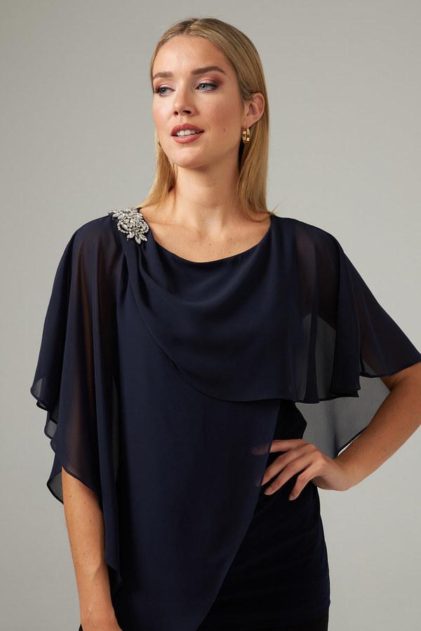Joseph Ribkoff Midnight Blue Shirts & Blouses Style 203479
