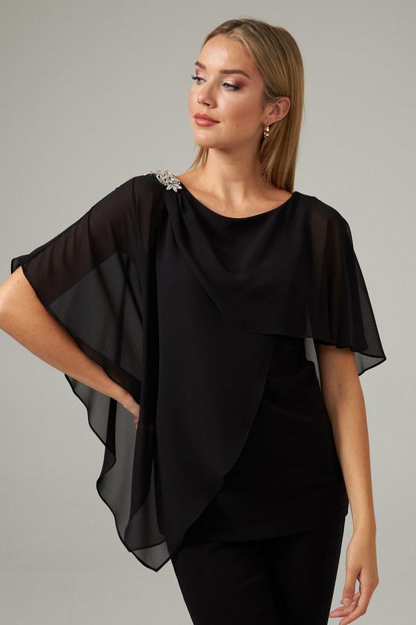 Joseph Ribkoff Black Shirts & Blouses Style 203479