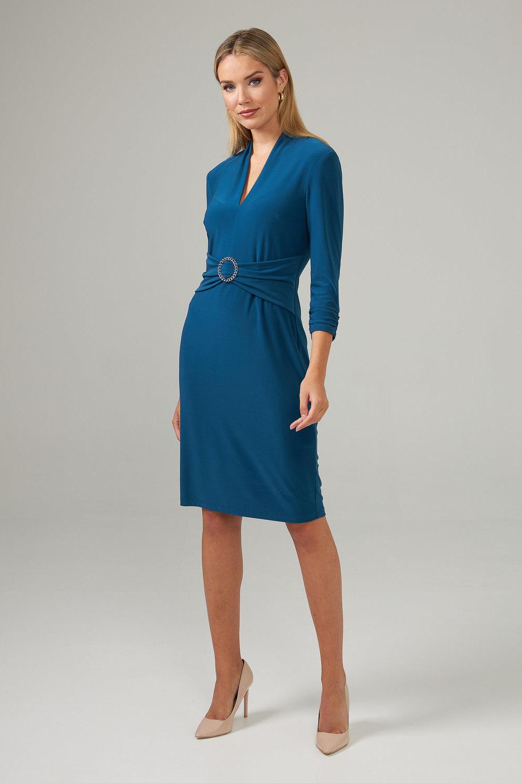 Joseph Ribkoff Peacock Dresses Style 203503