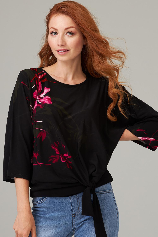 Joseph Ribkoff Chemises et blouses Noir/Rose Style 203515