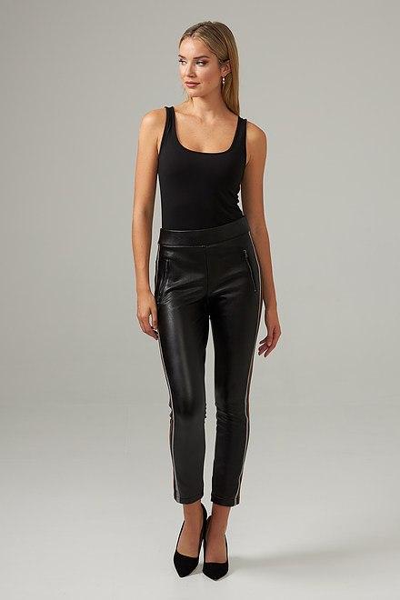 Joseph Ribkoff Black/Brown/Grey Pants Style 203535