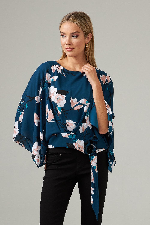 Joseph Ribkoff Chemises et blouses Sarcelle/Multi Style 203543
