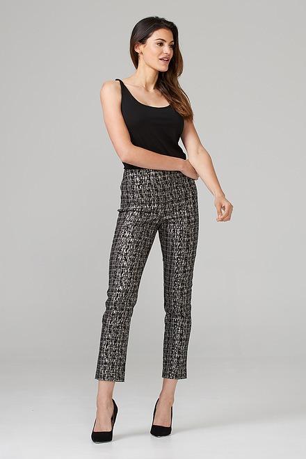 Joseph Ribkoff Pantalons Noir/Or Style 203544