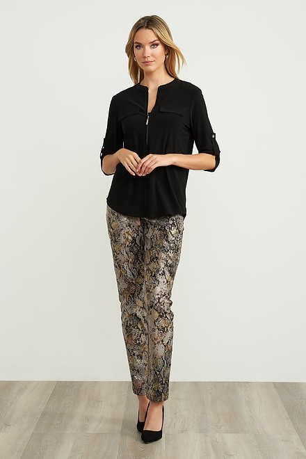 Joseph Ribkoff Snakeskin Pants Style 203554