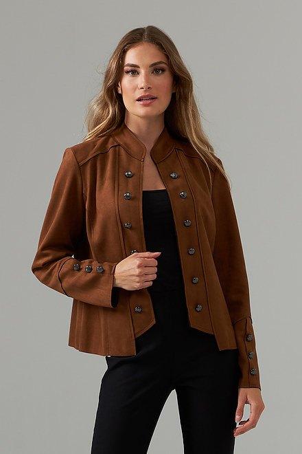 Joseph Ribkoff Brown Jackets Style 203565