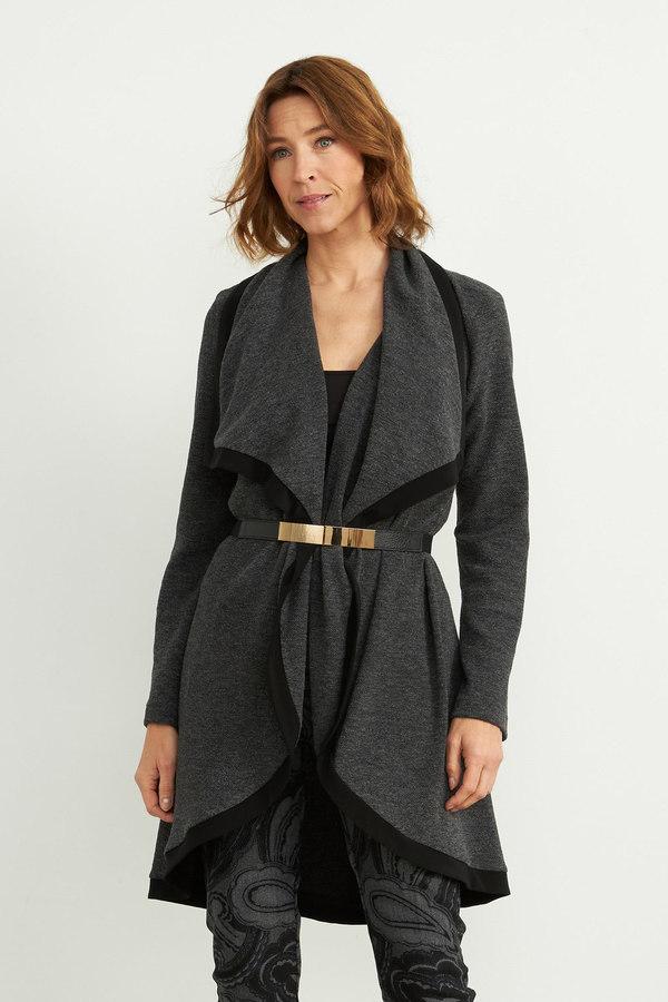 Joseph Ribkoff Charcoal Grey Cardigans Style 203628