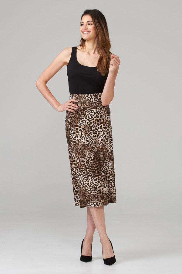 Joseph Ribkoff Brown/Black Skirts Style 203635