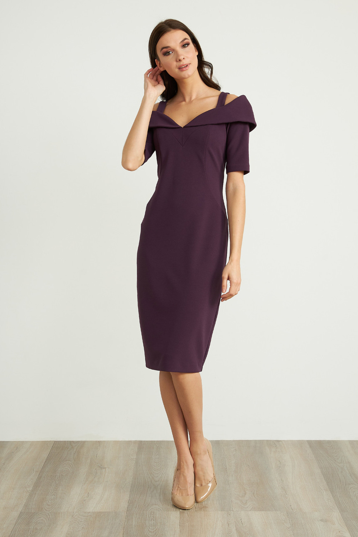 Joseph Ribkoff Amethyst Dresses Style 203645