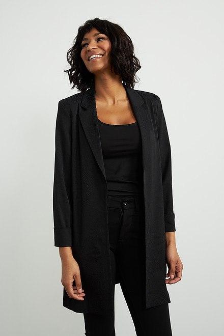 Joseph Ribkoff Black Blazers Style 203663