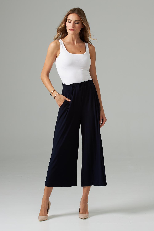 Joseph Ribkoff Pantalons Bleu Nuit Style 203665