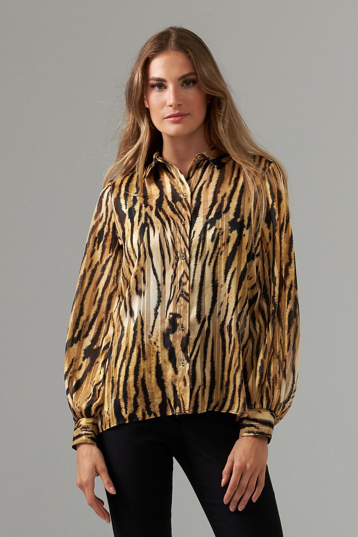 Joseph Ribkoff Black/Gold Shirts & Blouses Style 203682