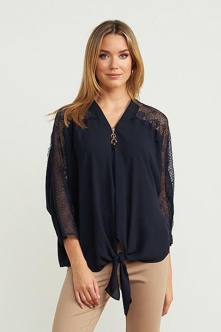 Joseph Ribkoff Midnight Blue Shirts & Blouses Style 203685