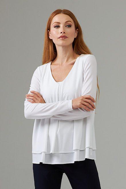 Joseph Ribkoff Vanilla 30 Shirts & Blouses Style 203701
