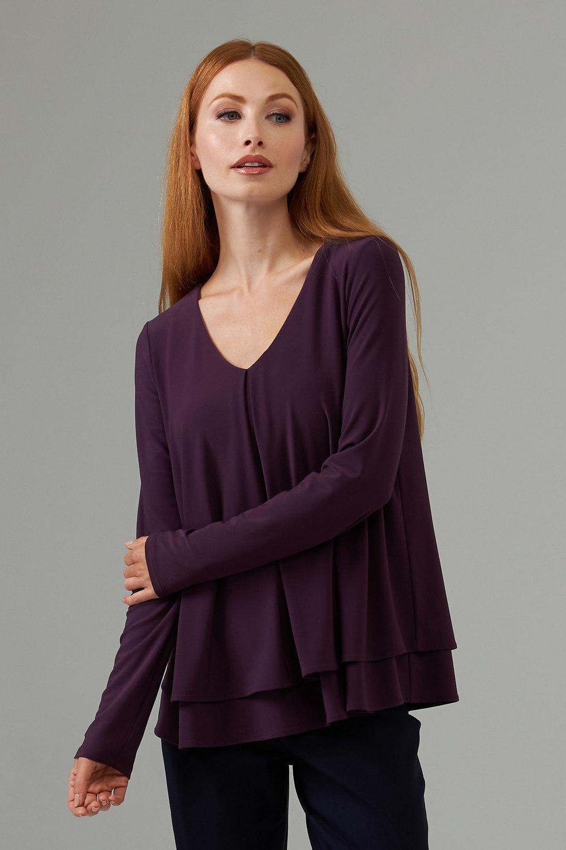 Joseph Ribkoff Amethyst Shirts & Blouses Style 203701