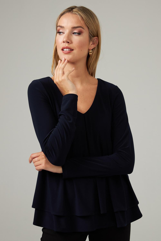 Joseph Ribkoff Midnight Blue Shirts & Blouses Style 203701