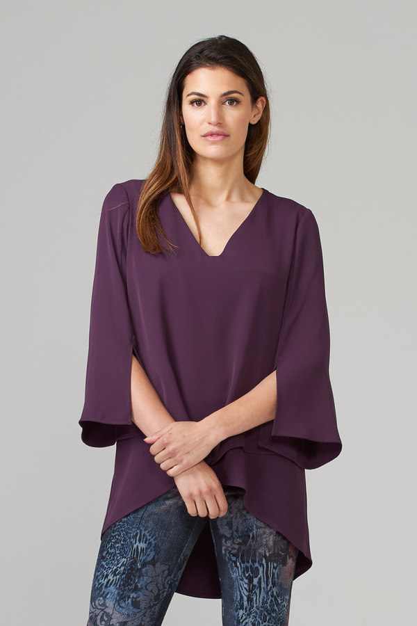 Joseph Ribkoff Amethyst Shirts & Blouses Style 201085