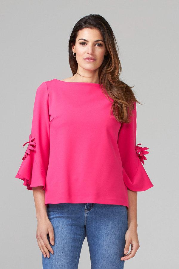 Joseph Ribkoff HYPER PINK Shirts & Blouses Style 202150