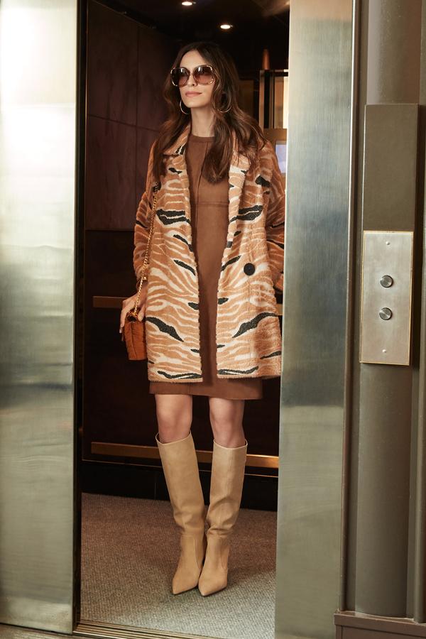 Joseph Ribkoff Robes Brun Style 203296