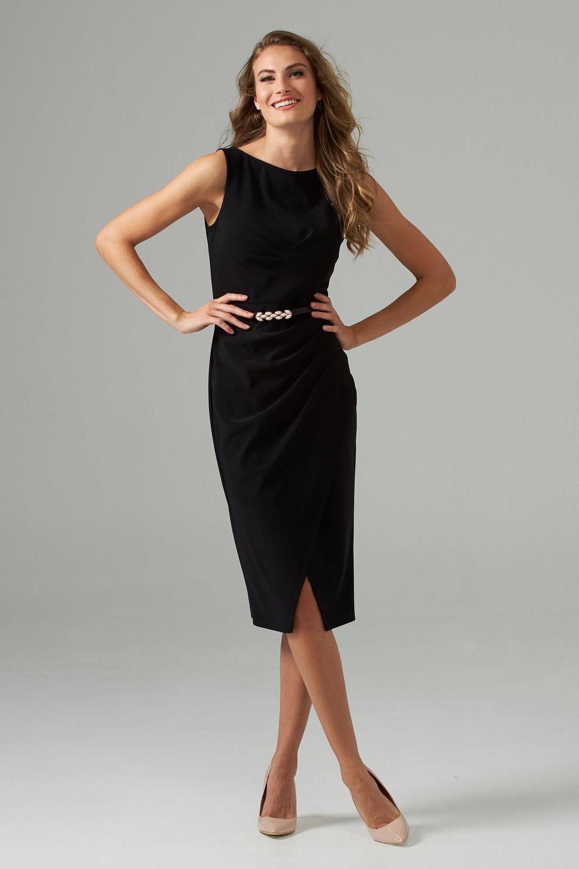 Joseph Ribkoff Robes Noir Style 202448