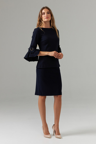 Joseph Ribkoff Midnight Blue Shirts & Blouses Style 202150