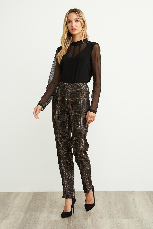 Joseph Ribkoff Brown Pants Style 204070