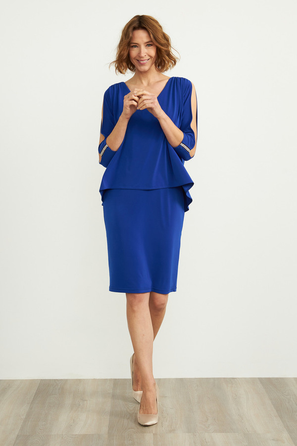 Joseph Ribkoff Robes Saphir Royal 163 Style 204109