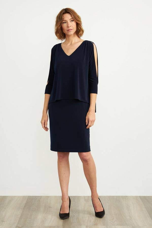 Joseph Ribkoff Robes Bleu Nuit Style 204109
