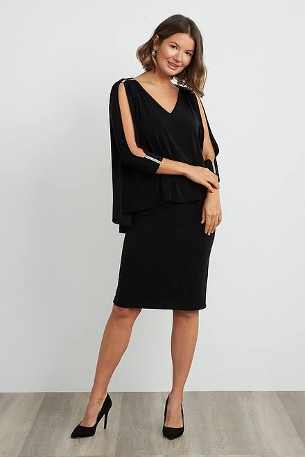 Joseph Ribkoff Black Dresses Style 204109