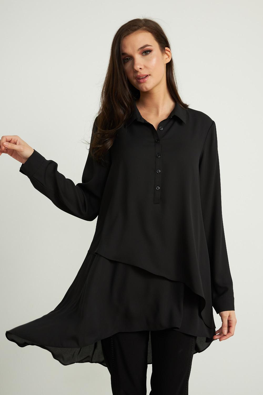 Joseph Ribkoff Black Shirts & Blouses Style 204155