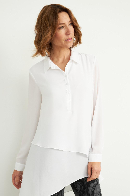 Joseph Ribkoff Off White Shirts & Blouses Style 204155