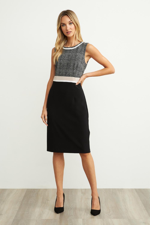 Joseph Ribkoff Black/Grey Dresses Style 204193