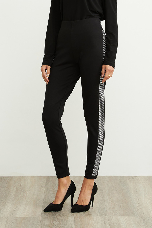 Joseph Ribkoff Black Leggings Style 204197