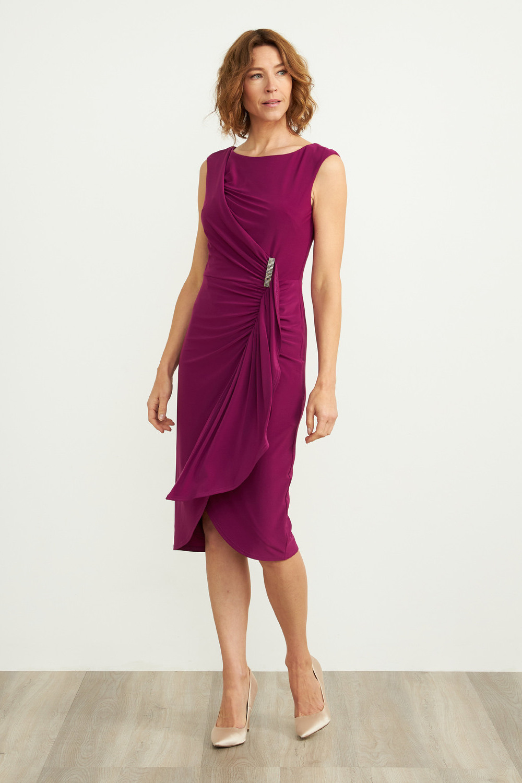 Joseph Ribkoff Magenta Dresses Style 204231