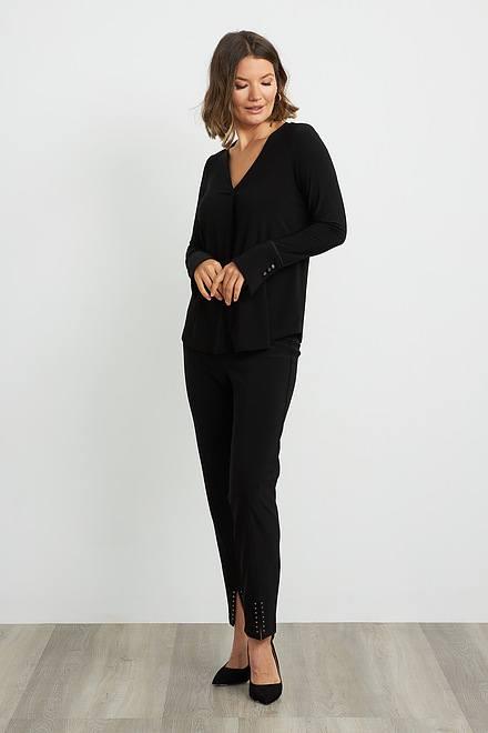 Joseph Ribkoff Pantalons Noir Style 204262