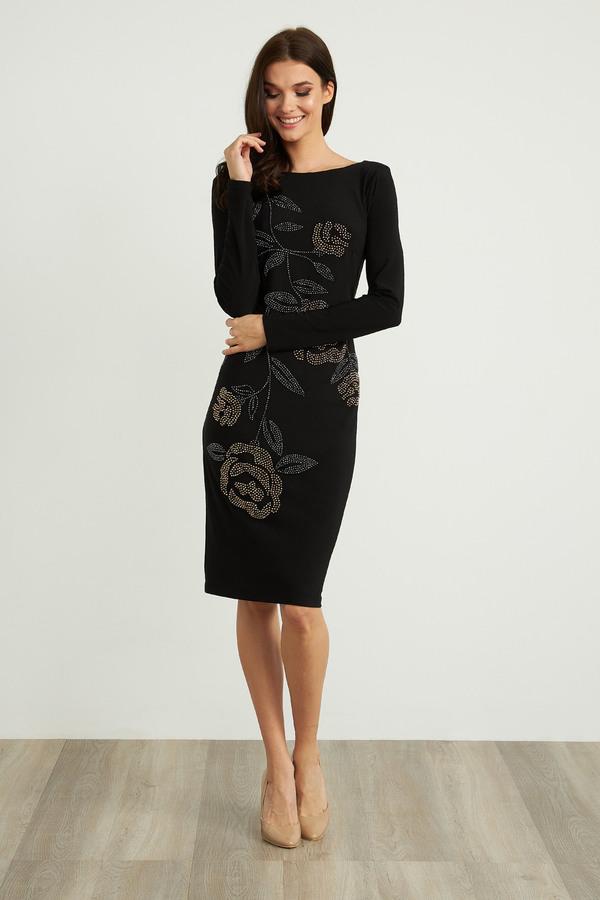 Joseph Ribkoff Robes Noir Style 204310