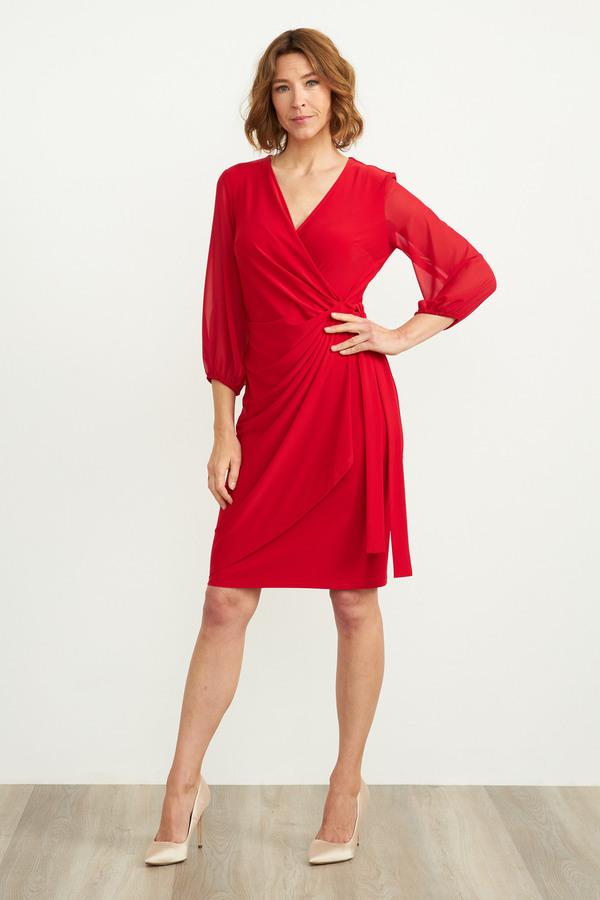 Joseph Ribkoff Lipstick Red 173 Dresses Style 204411