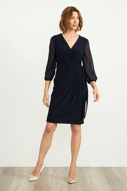 Joseph Ribkoff Midnight Blue Dresses Style 204411