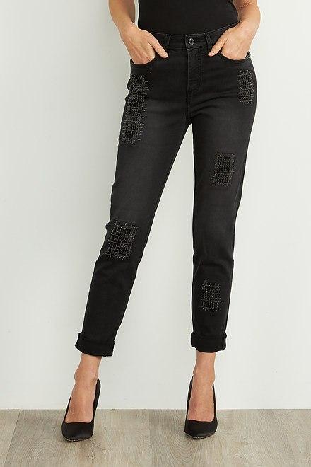 Joseph Ribkoff Jeans Charbon/Gris Fonce Style 204959